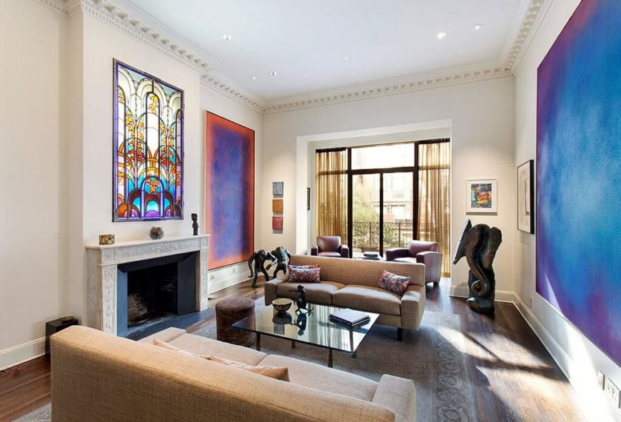 40 Rooms With Remarkable Stained Glass Windows
