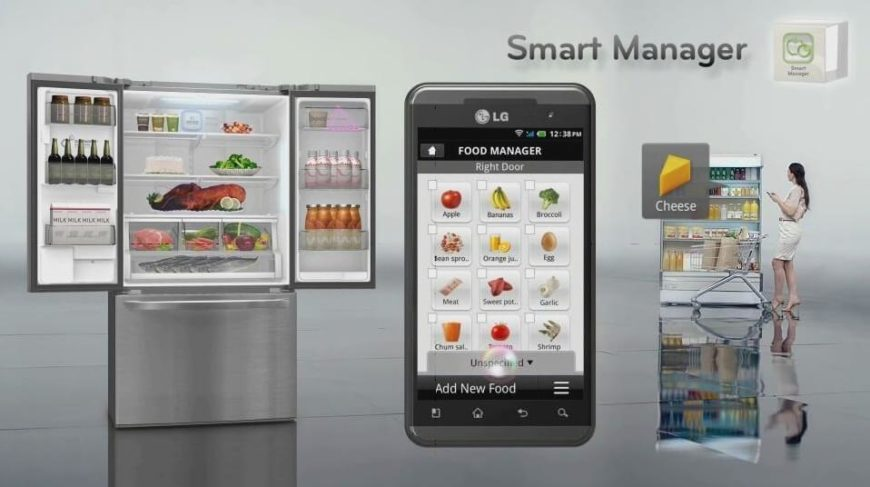 Smart home appliances.