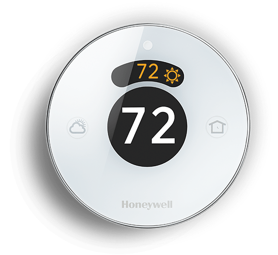 With this smart, wifi-enabled thermostat, you'll be able to control the temperature of your home from literally anywhere on earth, or allow its built-in computer to manage the household environment automatically. When maintenance is needed or extreme conditions present themselves, the Lyric will send a notification to your smartphone. Additionally, it will use your location information to adjust the temperature as you come and go from home, increasing money savings along the way. Perhaps smartest of all, it will fine tune itself based on both indoor and outdoor temperatures and humidity readings to reach the perfect set point.