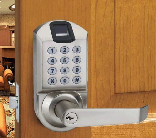 If your keyless smart lock needs are direct and simple, this product might be the perfect solution. As with several other smart home door locks, you won't need drills or anything more major than a screwdriver to install. You can add and delete user fingerprints right at the keypad without use of a separate computer or smartphone. Most uniquely, it features a learning algorithm to update your fingerprint each time it's read, significantly reducing the rejection rate over time.