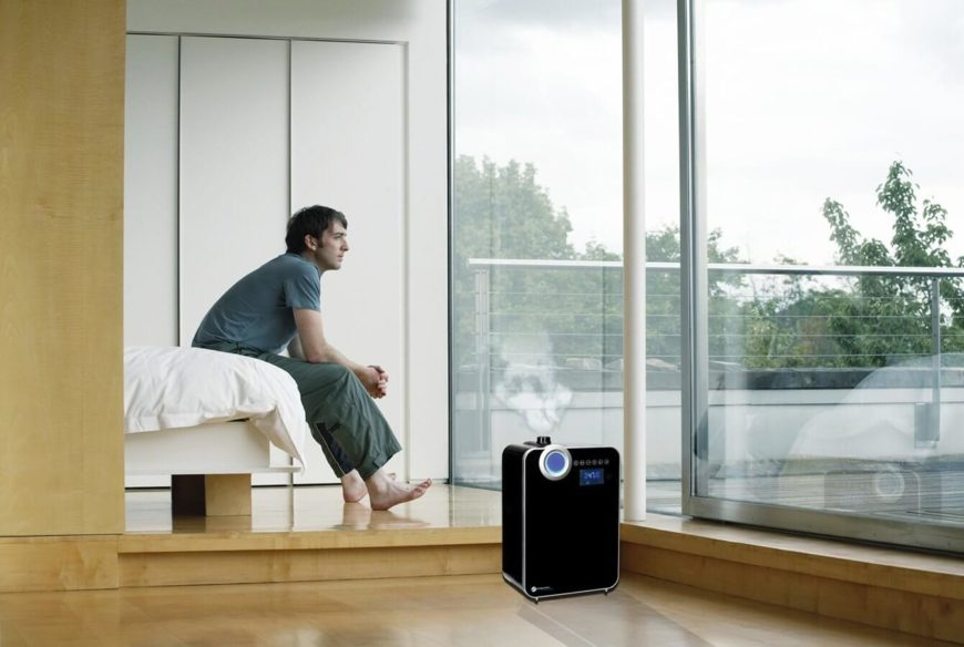 While humidifiers have been around for decades, they've never been this nuanced or useful. With its built-in digital smart mist sensor, the device guards against any problems caused by too-dry air in the home. Its 2 gallon tank is ideal for larger spaces, dispersing a fine warm or cooling mist into the air, extendable with included wands. The quiet operation belies a smart device capable of monitoring the dynamic level of humidity in your room, adjusting to maintain a consistent level throughout the day and night.