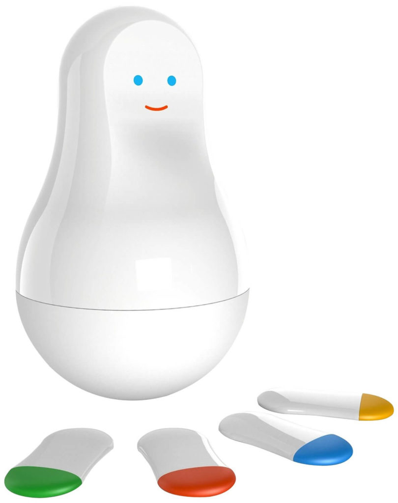 You can be alerted if someone breaks in by placing one of the cookies at the front door. Carry one in your pocket to measure activity levels throughout the day. You can even stick one on a pill bottle and the app will remind you if you miss a dose. There are many more applications for this adorable smart home device.