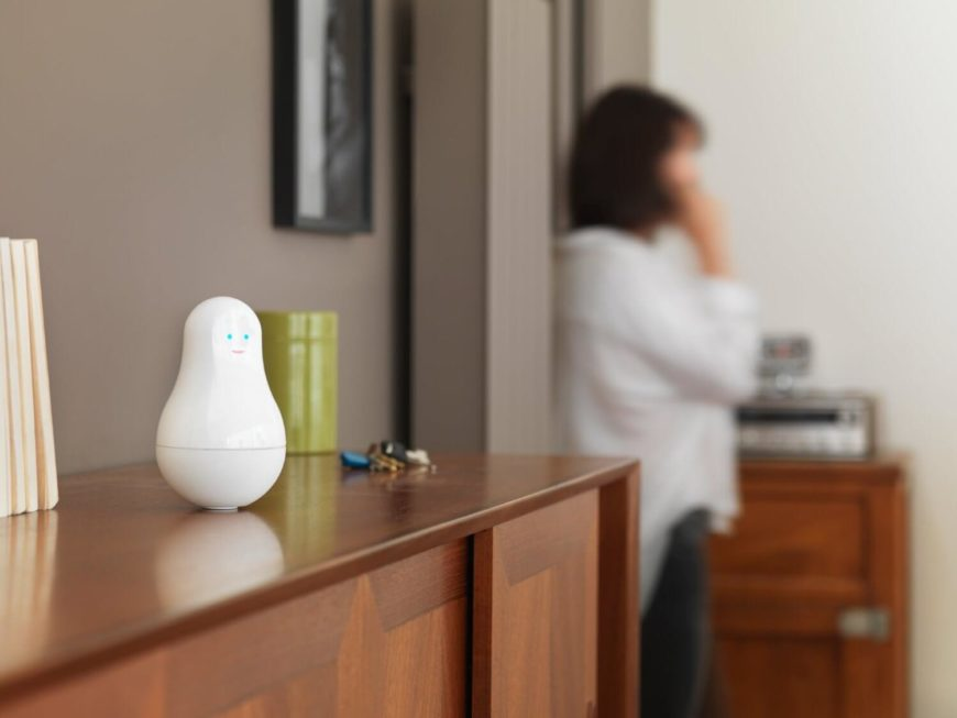 """Designed to blend into your home and make life easier and more efficient without drawing attention to itself, this smart home sensor is compatible with Apple, Android, and Windows smartphones as well as the Nest smart home network solution. The """"mother"""" acts as a central hub while the """"cookies"""" are placed around the home at strategic points to monitor the home and activity within it."""