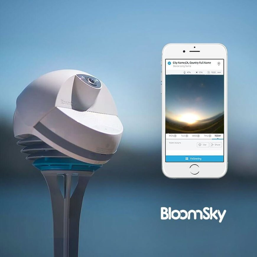 This unique device is being billed as a sky camera plus 5 weather sensor, and it's easily installed and ready to use. The fully featured weather device is housed in a rugged body to secure its wide angle camera, giving you a first person view of the sky and surrounding environment. The components include high grade sensors to measure temperature, humidity, barometric pressure, UV exposure, and precipitation. With its built-in wifi functionality, weather data and real-time images are sent right to your smartphone throughout the day. You can even access a stunning time-lapse video at the end of each day, letting you see all of the weather events in seconds.