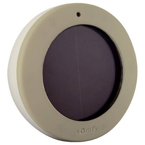 Here's a solar powered smart home sensor that is perfect for anyone with a motorized awning over their porch or patio. The device senses sunlight and can open or close your shade-providing awnings automatically at the right times of day. It can even be used in conjunction with a wireless wind detector for an additional layer of safety and convenience. If you value your outdoor time, this might be the perfect smart home sensor.
