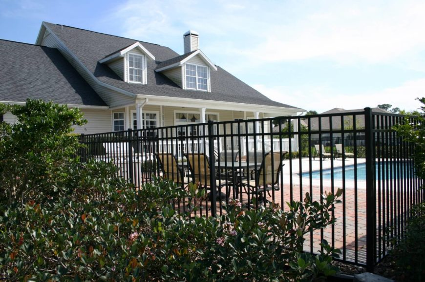 Frameless Glass Pool Fence By Aquaview Fencing Pool Fence Glass Pool Fencing Fence Around Pool