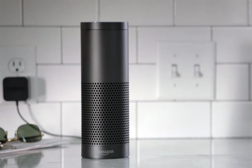 The Amazon Echo is a smart home hub that's designed around your voice. Once it's plugged in, you operate it entirely hands-free. Not only can it play your music via built-in apps or Bluetooth streaming; the Echo can control other smart devices around the home, from lighting and switches to heaters or anything else you can plug in.