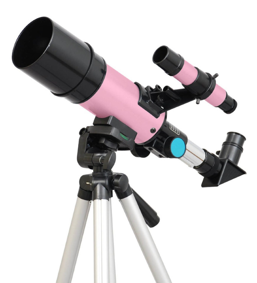 Don't forget your telescope! A proper telescope is something every young astronomer needs!