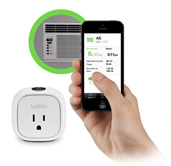 The WeMo app is designed to work with a suite of compatible easy-to-use products over the internet from your smartphone or tablet. It's also compatible with very popular app IFTTT, which we will cover below. It comprises several functions, including Insight Switch, to show you how much energy your devices are using, Light Switch, to let you turn all the lights in the home on or off, and NetCam, which triggers home automation features when you walk in the door.