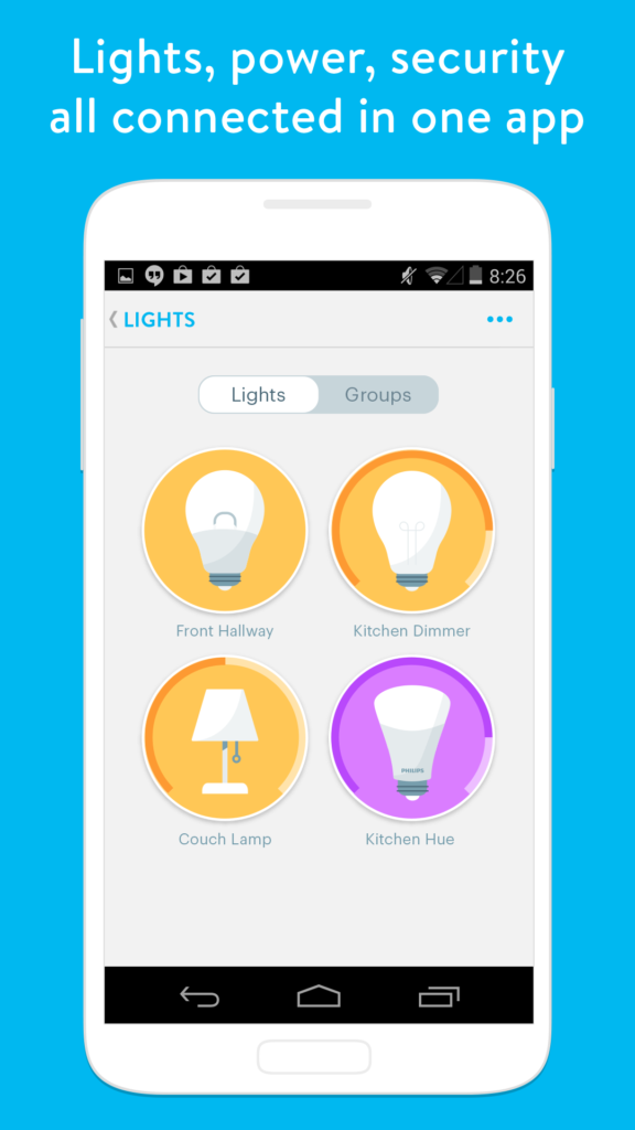 Wink creates one of the most popular hubs we've featured in our series on Smart Home Devices. Their free accompanying app is a simple to use solution that allows for your diverse collection of smart devices to speak the same language. You'l be able to command lights, power, security, and more with a swipe or a tap, and you can control the whole home from anywhere in the world. Even better, you can customize the way your devices speak to one another, creating a series of shortcuts to automate the whole smart home ecosystem.