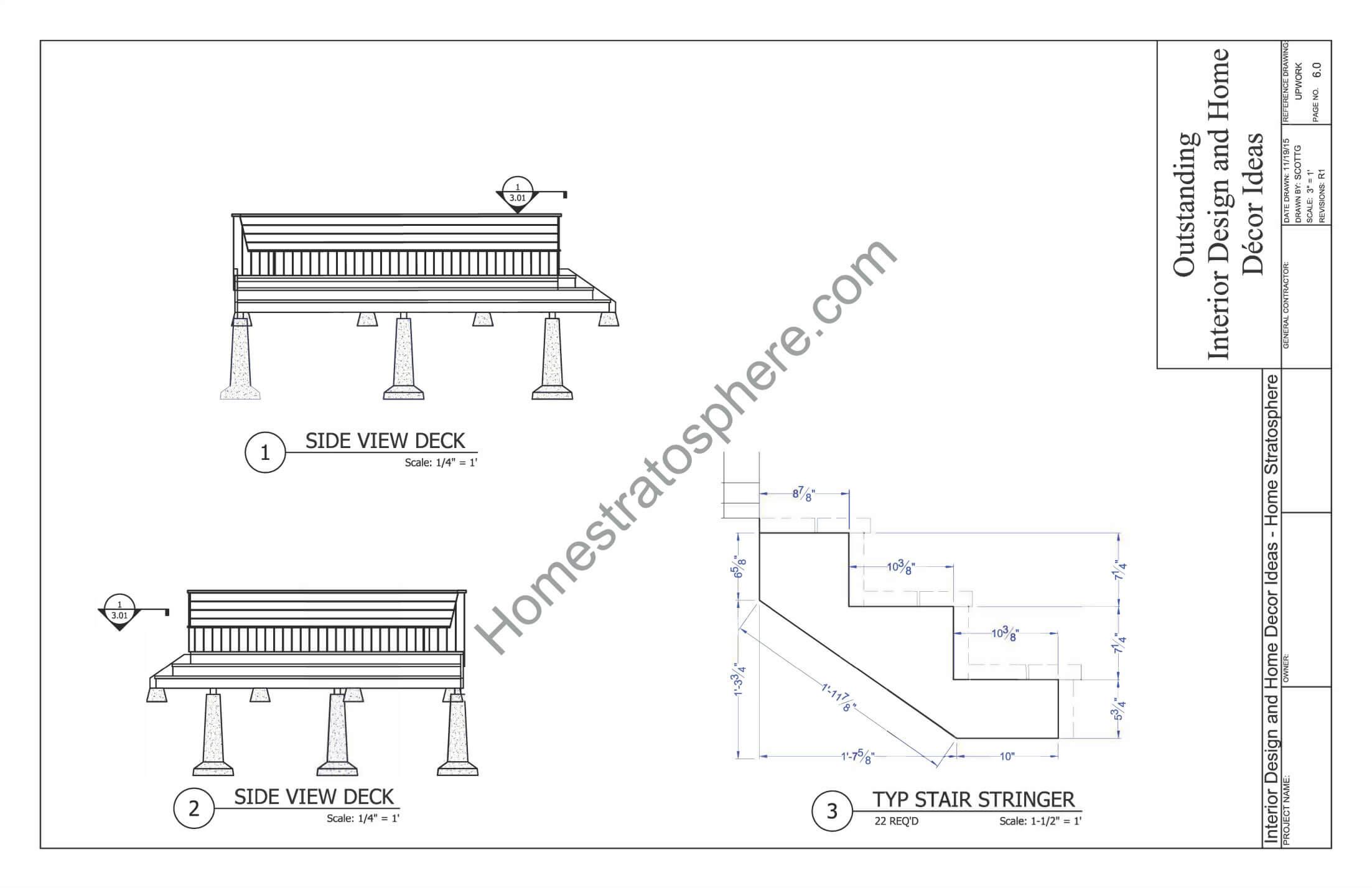 Bench Blueprint