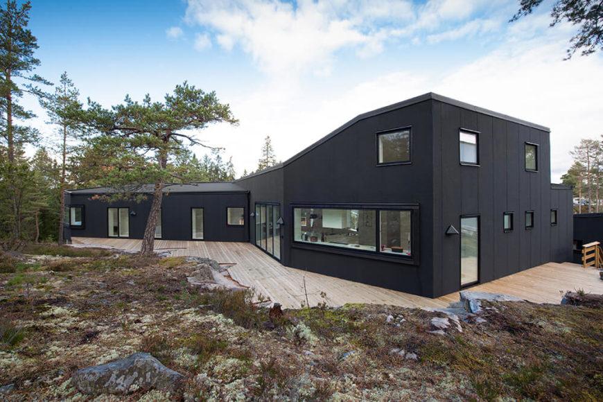 Startling Villa Blåbär: Villa Blueberries by pS Arkitektur