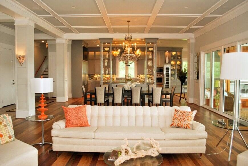 When you have a lot of design elements that you want to accentuate, you can have an uncomplicated sofa let the other aspects of your room speak. If you have a lot of stuff going on in your room, a loud sofa design can distract from that. Sometimes you just want your sofa to be there, stand back, and let the other interesting elements in your room take focus.