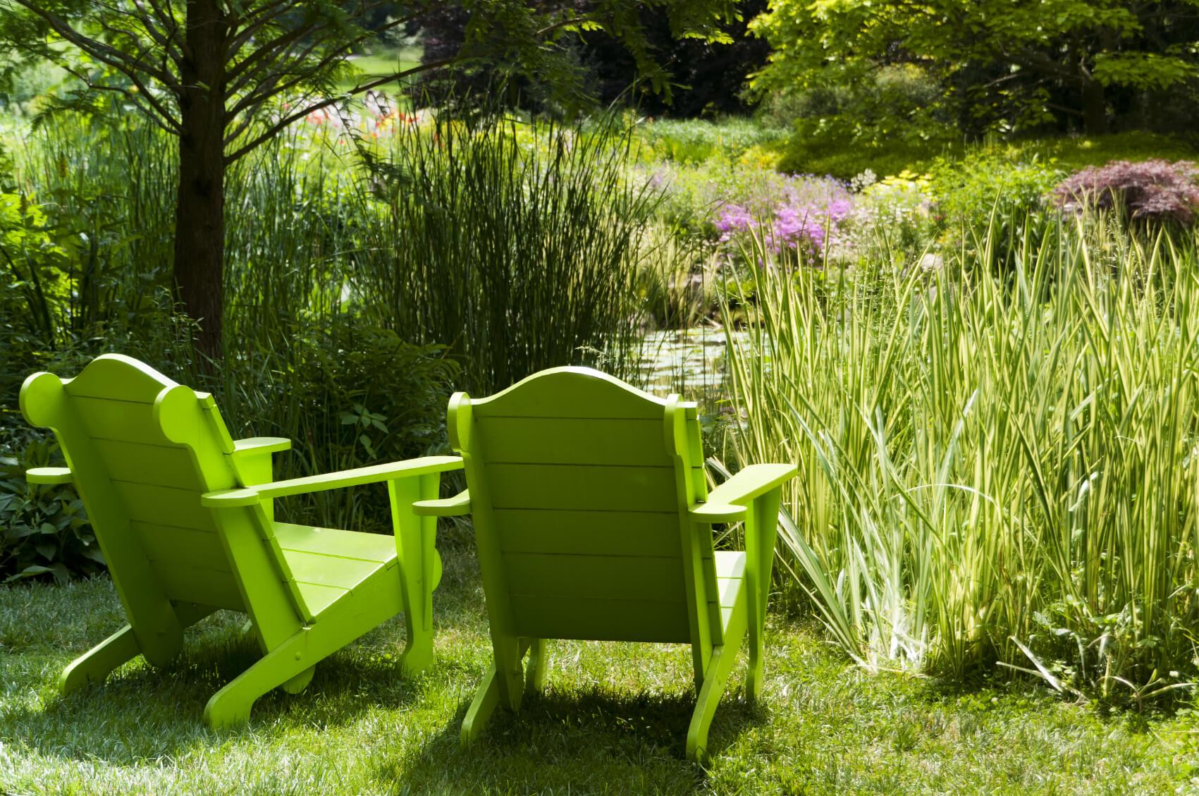 29 Sublime Backyard Adirondack Relaxation Spaces