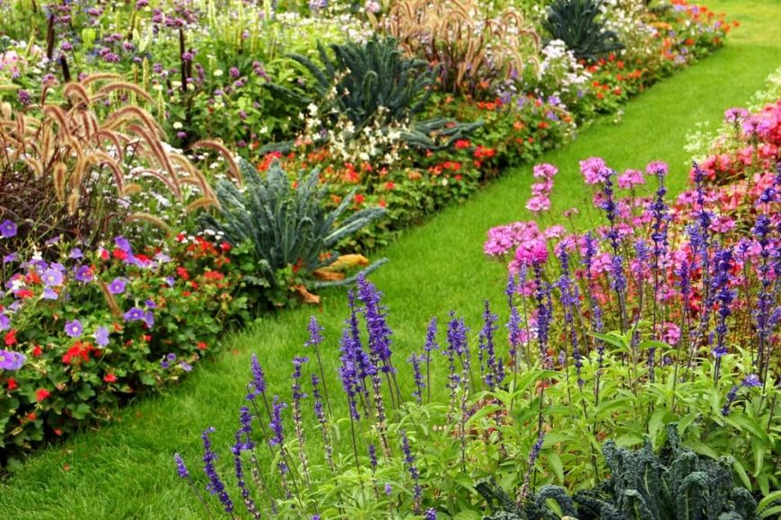 Due to the vast variety of perennials, there are nearly endless combinations and very few bad options. If flowers do not match precisely they may still provide a wild and untamed aesthetic that can be very appealing.
