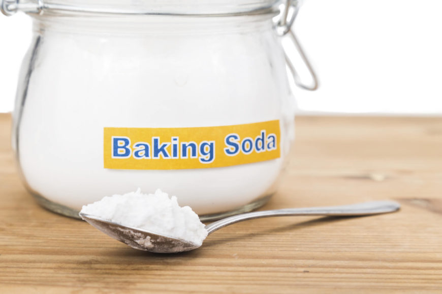 This may come as a big surprise, but you can actually sprinkle straight baking soda around spider prone areas of the house to keep the creepy critters away. Take just a spoonful and spreading it in corners, doorways, window sills, and other areas to send spiders packing. Their sensitive legs will repel them from this cost effective solution.