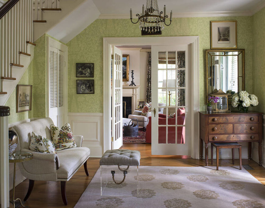 Transcending Traditional Project by Heather Garrett Design