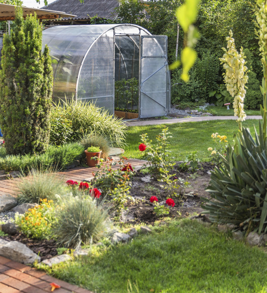 By utilizing a variety of plants, your small garden will have great depth and texture. There is nothing wrong with mixing and matching styles of plants in your small garden.