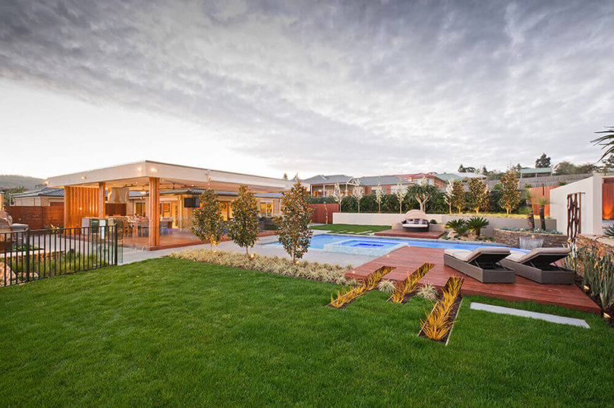Natalie Court Home With Incredible Patio Design