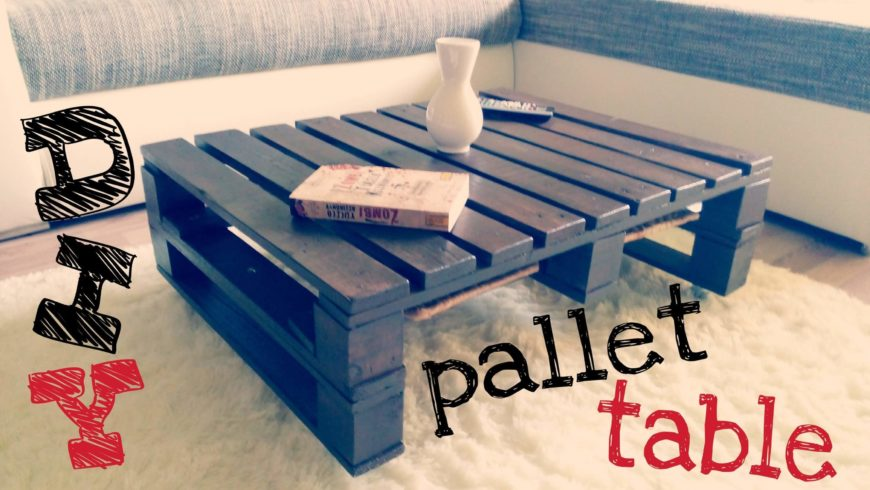 Pallets are really versatile materials, and they can be acquired cheaply, or even for free! Creating your own pallet coffee table is fairly easy, and you can stain the wood to match your other furniture. We love the way pallet tables look in most styles, including industrial, farmhouse, and even in contemporary spaces! If you're looking for cheap DIY room décor, look no further than pallet projects!