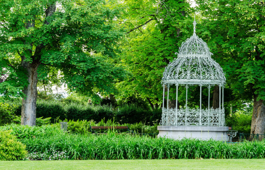 This decorative gazebo is an attractive and interesting piece for your yard. This kind of gazebo is a fabulous way to develop a wonderful look in your landscaping.
