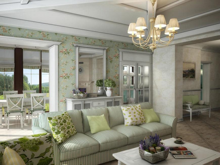 Bright Seaside Style Modern Home Interior