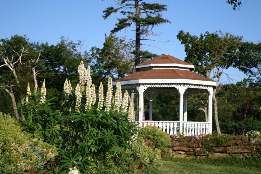 A gazebo can give you a place to sit and watch over your garden. It will make your garden an attractive place that people will be drawn to.