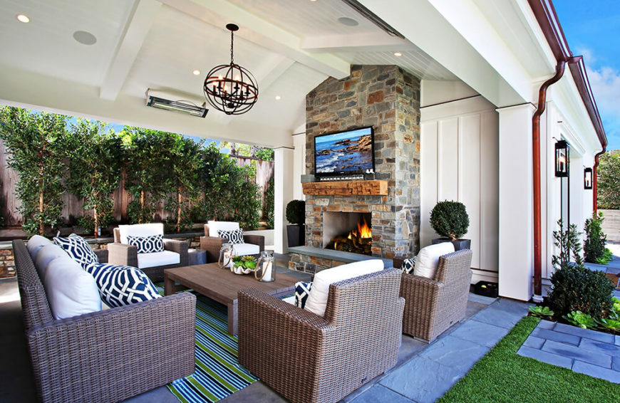 Indoor or outdoor, this furniture will suit any need you have. This patio furniture is stylish enough to be inside but sturdy and weather resistant enough to be kept outside.