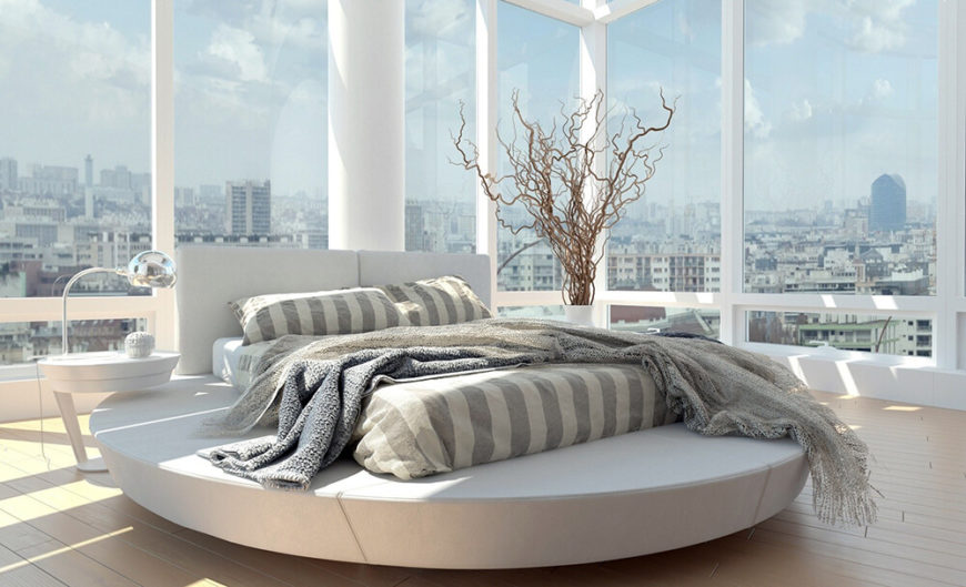 There are even unique furniture pieces available. This interesting piece is used as a base for a mattress, making it a bed that is stylish and intriguing.