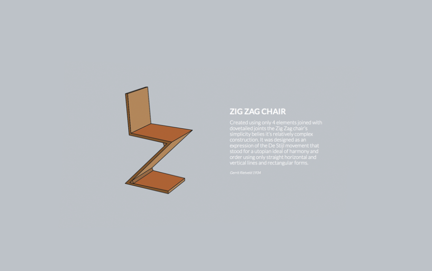 12 Zig Zag Chair
