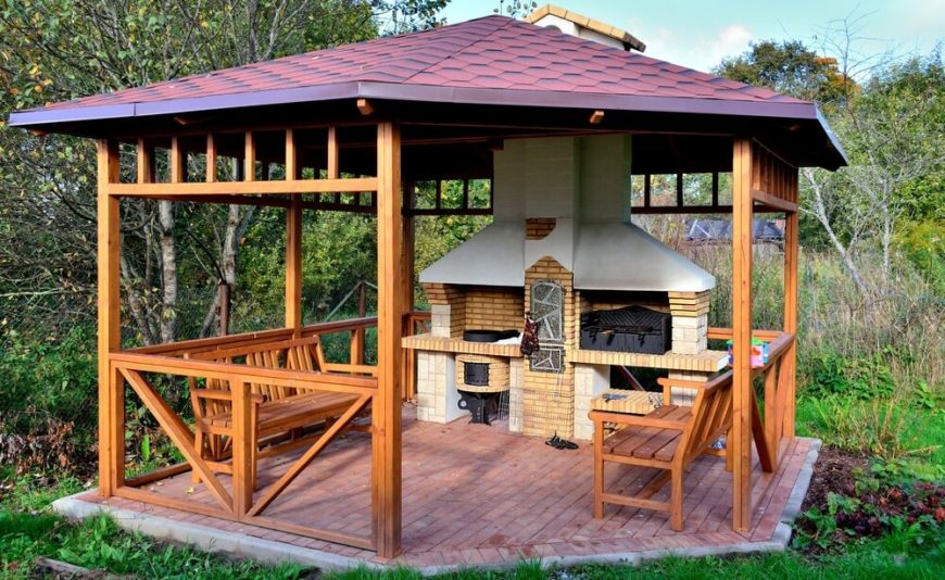 32 Wooden Gazebos That Provide Rich Design And Comfortable Spaces