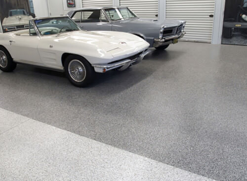 Use polyaspartic flooring to keep your garage polished-looking.