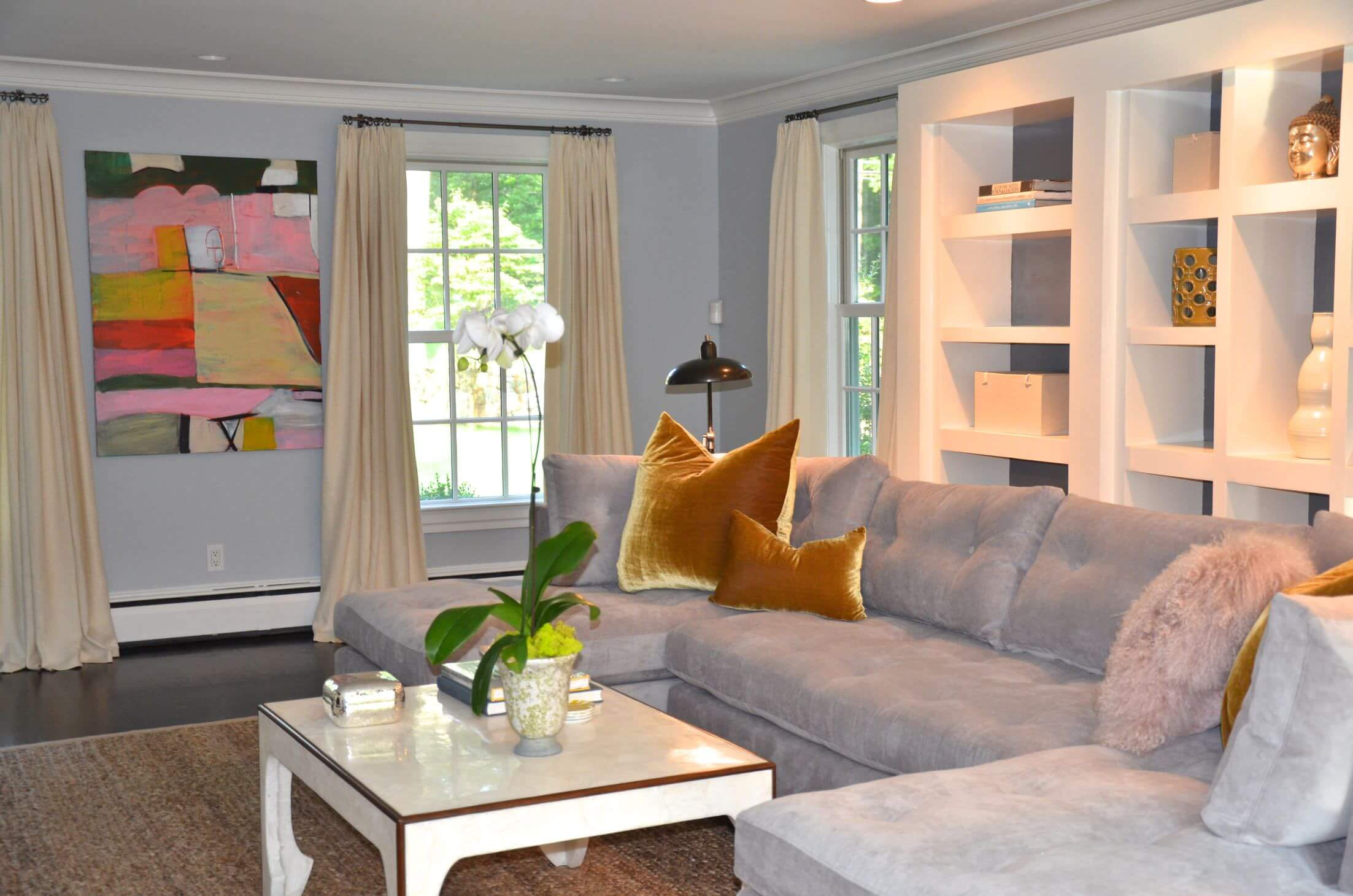 Best Living Room Colors And Color Combinations 2020,Family House 5 Bedroom House Plans Single Story 3d