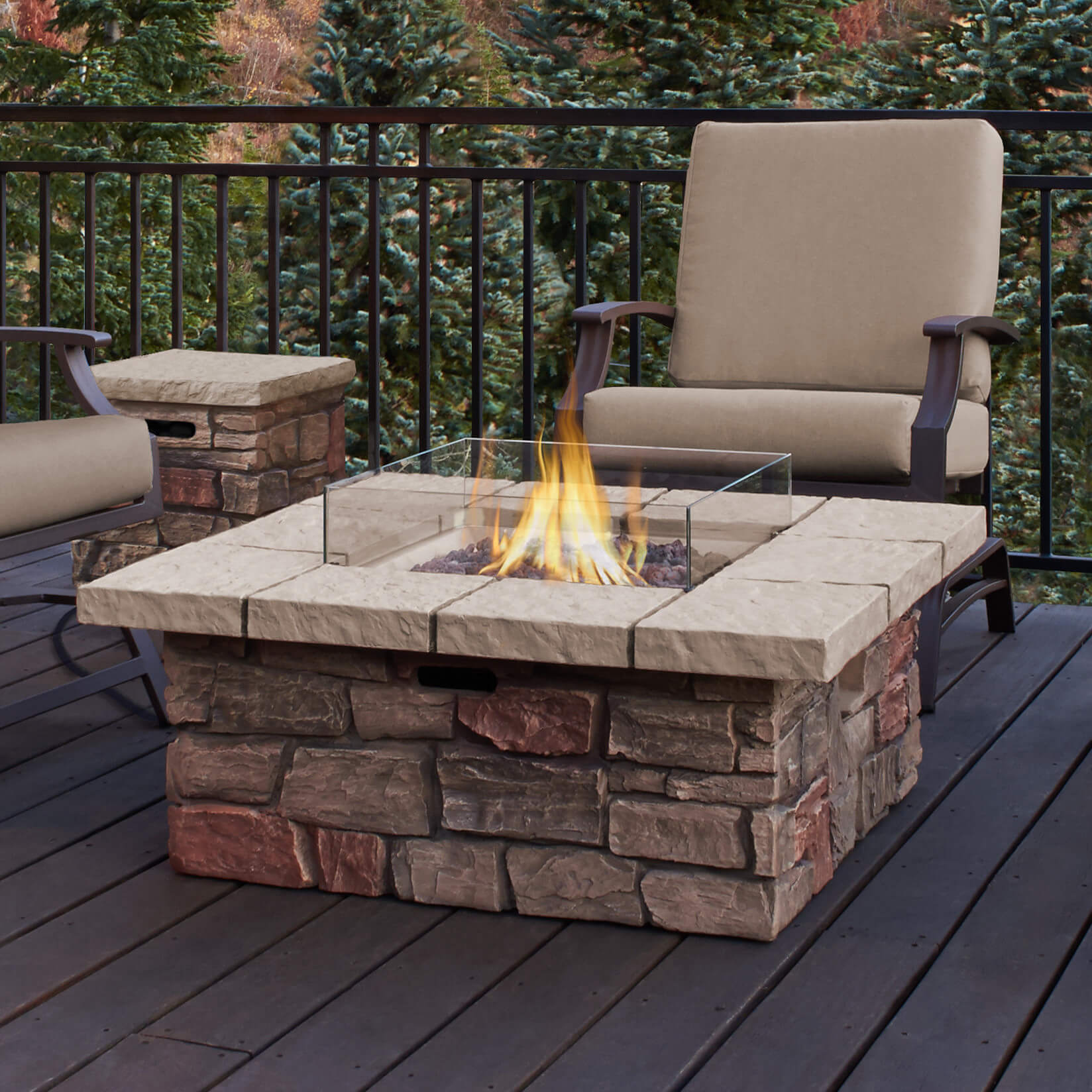 Image of: Top 15 Types Of Propane Patio Fire Pits With Table Buying Guide