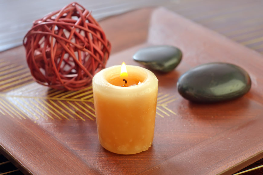 Candles are one of the most elemental things we can add to our homes. They emit positive energies and attract specific energies, especially based on color. Not only that, but they're practical, providing light without using any electricity.
