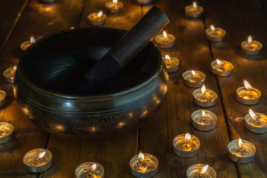 Singing bowls come from ancient traditions and have always been used as a way to directly add positive frequencies to a home. Using them frequently can promote peace of mind and reduce anxiety.