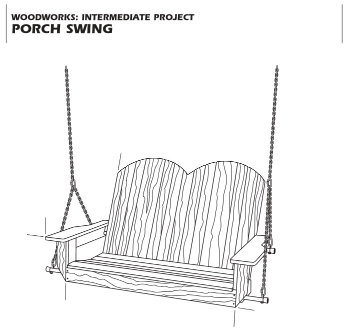 Teds Porch Swing Example Plan