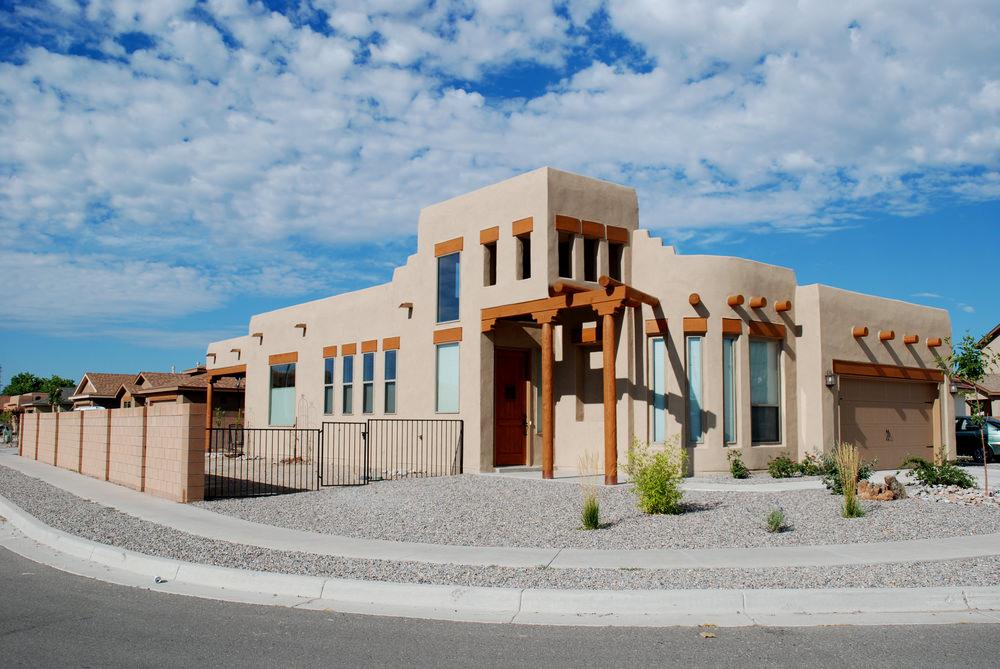 Adobe Revival Home Architecture