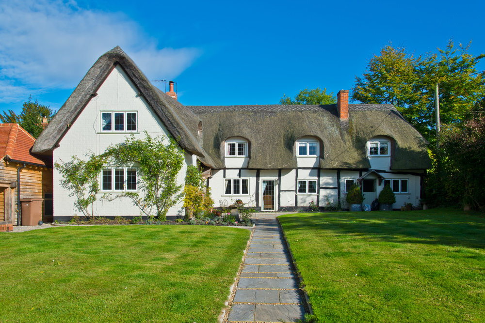 English Cottage Home Architecture