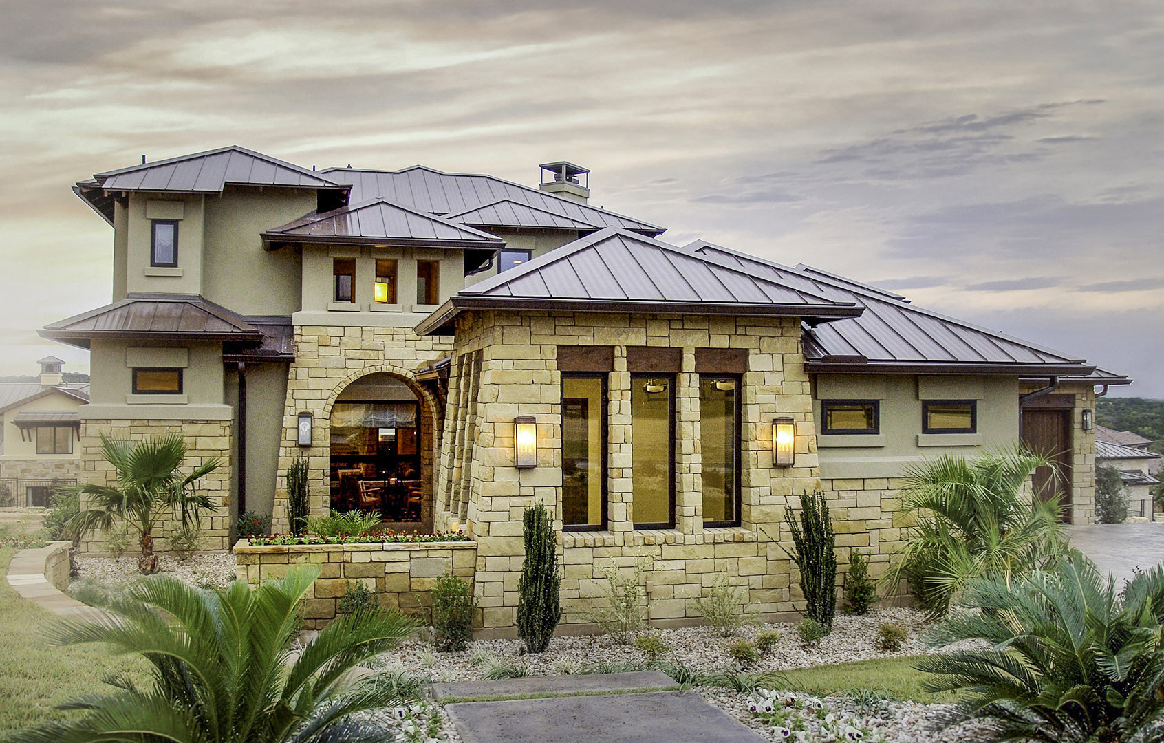 Tuscan Home Architecture