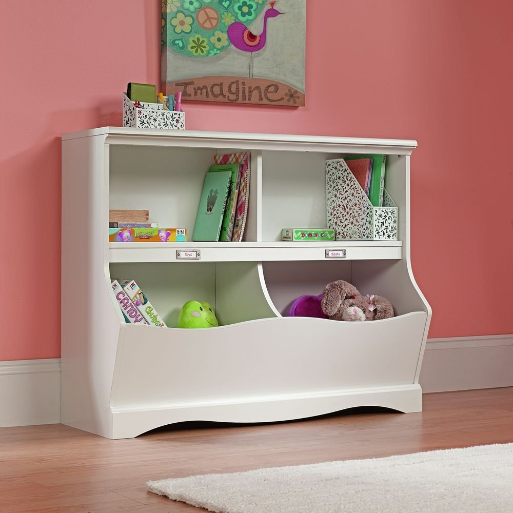 Shelf style toy storage organizer