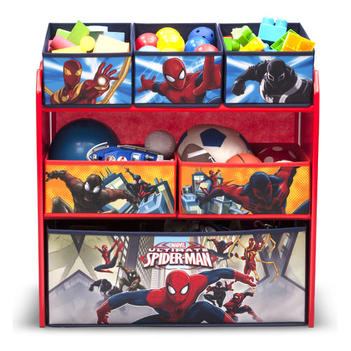 All fabric toy organizer