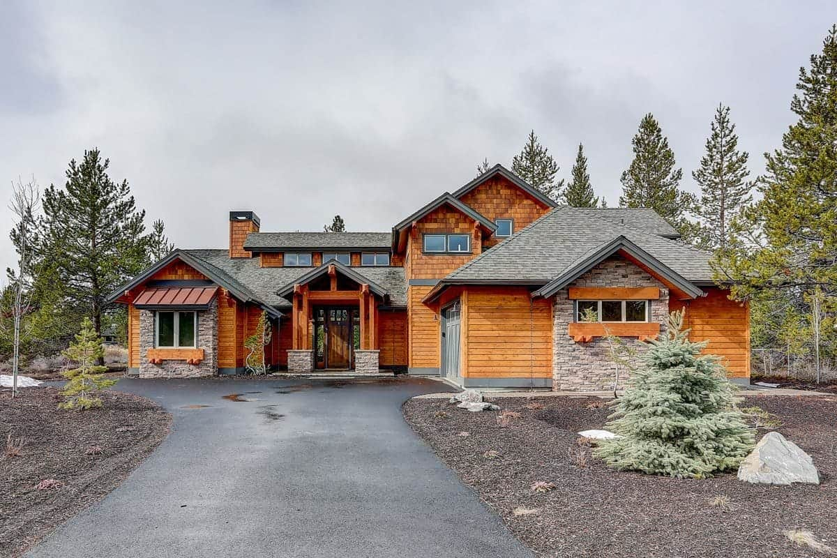 Rustic Mountain Craftsman with Vaulted Upstairs