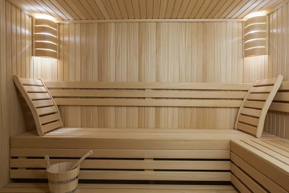 Custom-built-sauna for the house