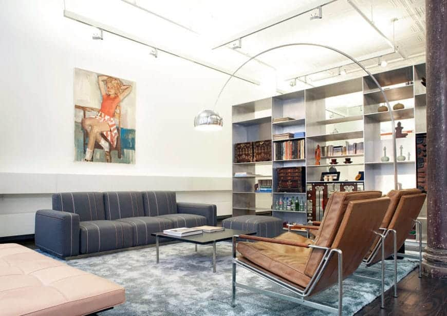 101 Industrial Living Room Ideas Photos