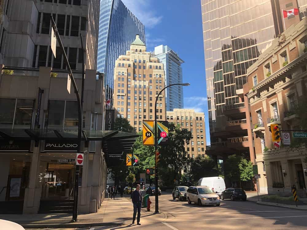Marine Building downtown Vancouver