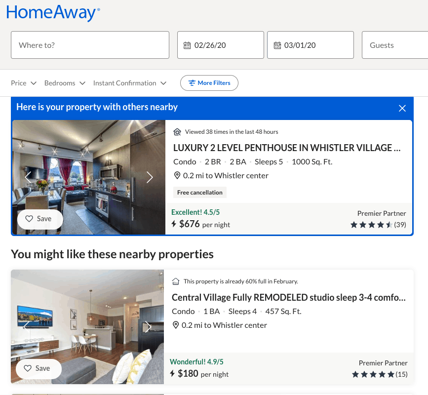 Homeaway vacation rentals reviews