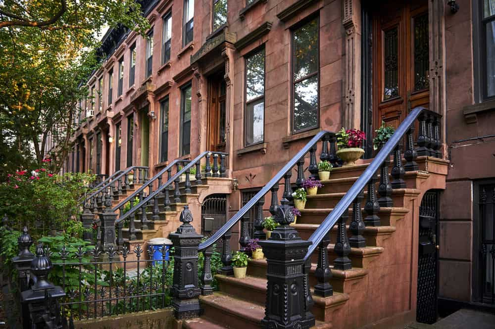 Brownstones in NYC