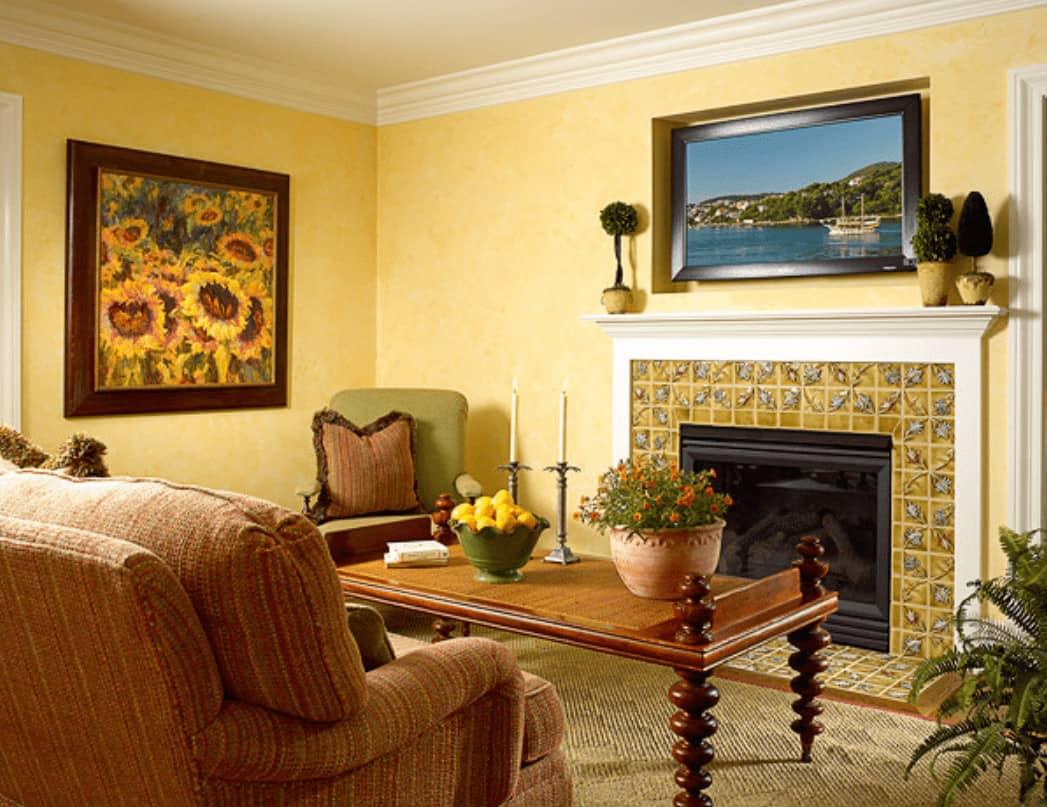 10 Yellow Living Room Ideas (Photos)